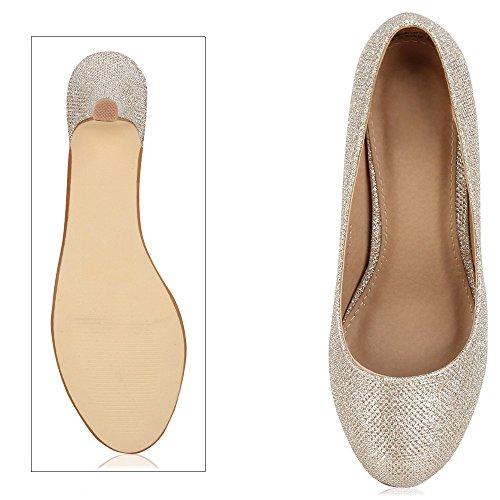napoli-fashion - Cerrado Mujer Gold Glitzer