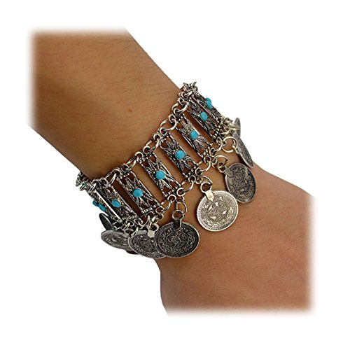 Boosic Bohemian Ethnic Bracelet Compressed Turquoise