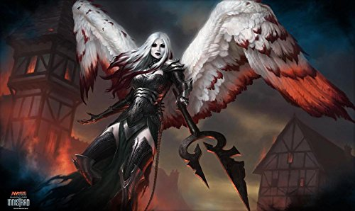 Discount Angel Bloody Playmat 24 x 14 inch Mousepad for Yugioh Pokemon Magic the Gathering for sale