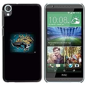 EJOY---Cubierta de la caja de protección la piel dura para el / HTC Desire 820 / --Pantera