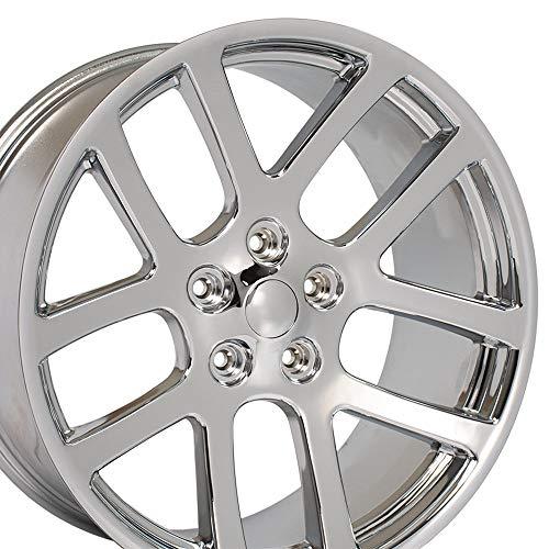 - OE Wheels 22 Inch Fits Chrysler Aspen Dodge Dakota Durango Ram 1500 RAM SRT Style DG51 Chrome 22x10 Rim Hollander 2223