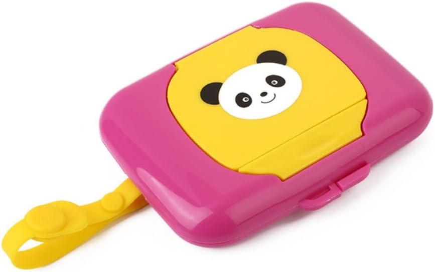 mignon enfants enfant Voyage /à pression Pop Up Motif rechargeables v/éritable Mouchoirs support pour rouleau de papier Zhongyu Portable b/éb/é humide Bo/îte /à mouchoirs