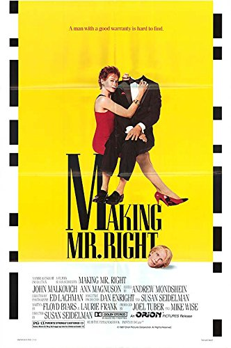 """Making Mr. Right - Authentic Original 27"""" x 40"""" Folded Movie Poster by MovieposterDotCom"""