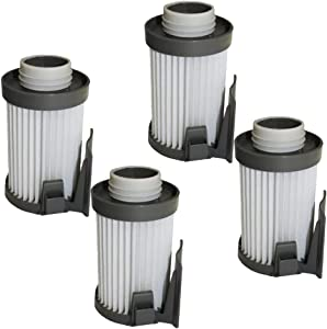 Fette Filter - Vacuum Filter Compatible with Eureka Models DCF10, DCF-10, DCF14, DCF-14, Optima 430 Series & Optima Pet Lover Compare to Part # 62396-2, 62396, 62731. Pack of 4