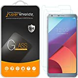 [3-Pack] Supershieldz for LG G6 Tempered Glass Screen Protector, Anti-Scratch, Anti-Fingerprint, Bubble Free, Lifetime Replacement Warranty