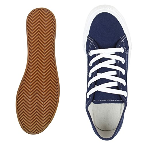 napoli-fashion - zapatos de tacón Mujer Dunkelblau Plateau