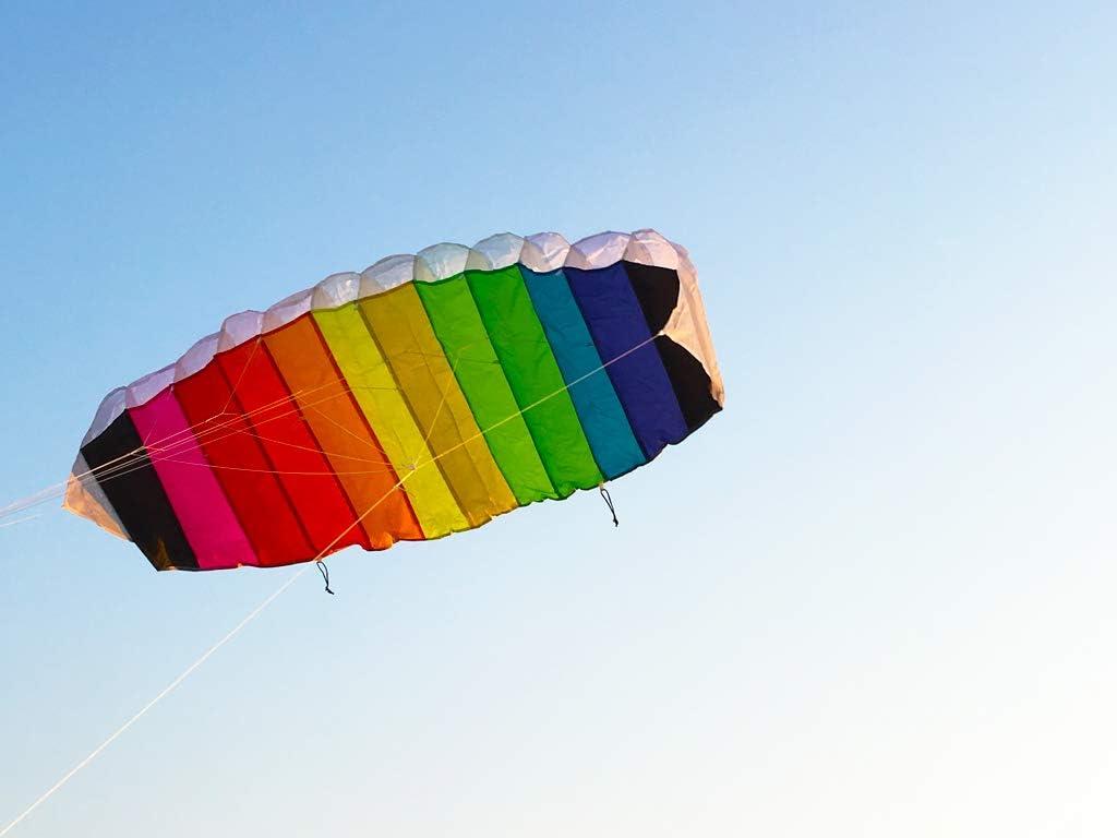 Cerf-volant en coton organique Sky High Body Pack 2arcs en ciel nuages Sunshine