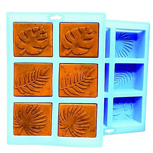 Silicone Mold, Palm olive leaves Craft Art Silicone Soap Mold Craft Molds DIY Handmade Soap Molds - Soap Making Supplies by YSCEN