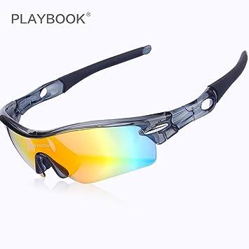 Outdoor Sports de lunettes de soleil polarisées Lunettes de soleil Peut être installé avec sable myopie Lunettes de cyclisme Course à Pied Marche Vélo Conduite Pêche Ski randonnée Golf Lunettes de bas b4cT2K