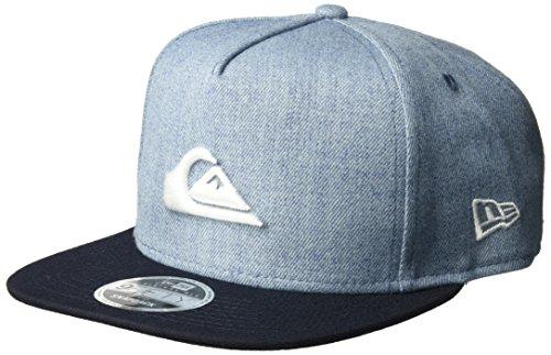 Vintage Era Hat (Quiksilver Men's Stuckles Snap Trucker Hat, Vintage Indigo, One Size)