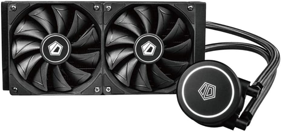 Widewing ID-Cooling FROSTFLOW X 240 Dual Fans CPU Water Liquid Cooler for Intel/AMD
