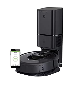 iRobot Roomba i7+ (7550) Robot Vacuum with Automatic Dirt Disposal- Wi-Fi Connected, Smart Mapping, Works with Alexa, Ideal for Pet Hair, Carpets, ...