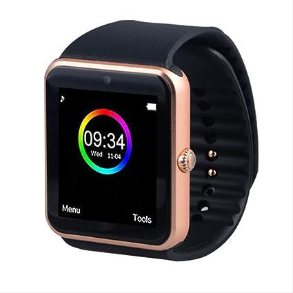 LFDYDSH Reloj Inteligente GT08 Hombres Mujeres Bluetooth ...