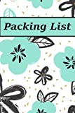 img - for Packing List: Packing List Checklist Manifesto Trip Planner Vacation Planning Adviser Itinerary Travel Diary Planner Organizer Budget Notes size 6*9 ... Pages (Seamless vintage pattern) (Volume 4) book / textbook / text book