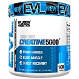 Evlution Nutrition Creatine5000 5 Grams of Pure Creatine in Each Serving Unflavored Powder (100 Servings)