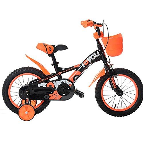 ZXUE Vélo pour enfants 12/14/16/18 pouces garçon bébé vélo 2-12 ans bébé garçon poussette