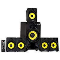 Theater Solutions TS518 5.1-Channel with Bluetooth Home Theater Speaker System (Black)