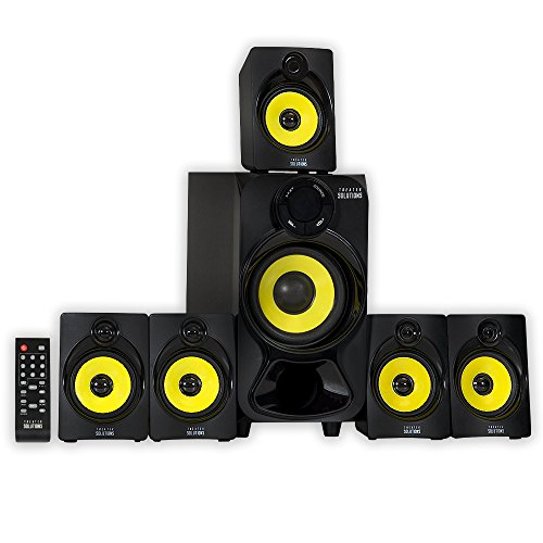 Theater Solutions by Goldwood 5.1 Speaker System 5.1-Channel Home Theater Speaker System