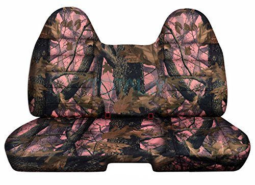60 40 seat covers camo chevy - 5