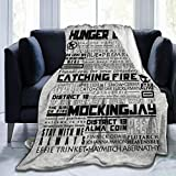 NA Hunger Games Beautiful Soft Velvet Hooded Blanket, Comfortable and Warm, Essential for Autumn and Winter