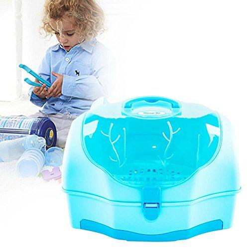 per Portable Bottle Storage Bin&Dryer Rack Baby Feeding Bott