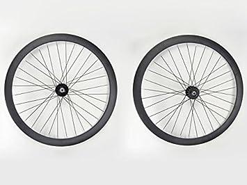 700 C Single Speed de Flip Flop Llanta par de Aluminio Negro ...