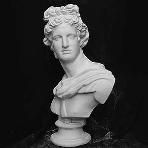 MIANJUMJ Estatua Escultura Pequeña Escultura,Apollo Adros