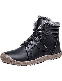 Outdoor Waterproof Ankle Winter Warm Fur Snow Boots for Women Men