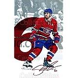 Shea Weber Hockey Card 2016-17 Montreal Canadiens Postcards #23 Shea Weber