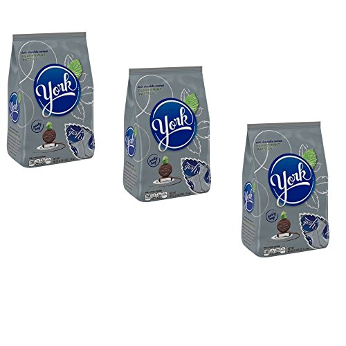 York Dark Chocolate Peppermint Patties, 40 Oz