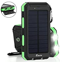 Solar Charger 20000mAh Power Bank, Porta...
