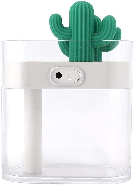 Neufday Lámpara de humidificador USB, ambientador de purificador ...