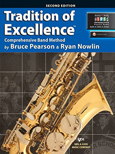 W62XE - Tradition of Excellence Book 2 - Eb Alto Saxophone