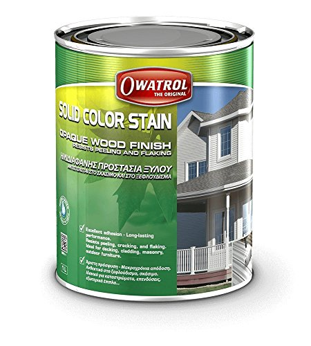 Solid Colour Stain (20 Liters) - Grey -  Owatrol Coatings USA, 11026