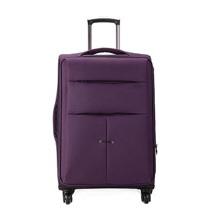 d68d9e24d500 Amazon.com: FDSjd Luggage Trolley Trolley Oxford Lockbox Men and ...
