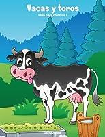Vacas Y Toros Libro Para Colorear 1: Volume