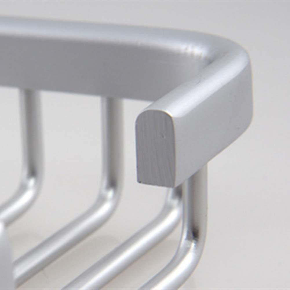 Spazio Alluminio Soap Box Soap Rack Sapone Stand Bagno Piccolo Sapone Sospensione A Parete Net