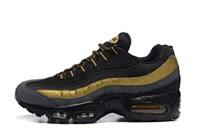 best sneakers 965c1 43e5f Carina Air Max 95 OG, Chaussures de Gymnastique Mixte Adulte Noir Jaune (46