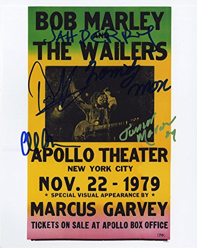 Bob Marley Memorabilia (Bob Marley & the Wailers - Autographed 8x10 Photograph - Signed by)