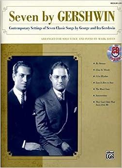 Seven By Gershwin - Medium Low (Book & CD)