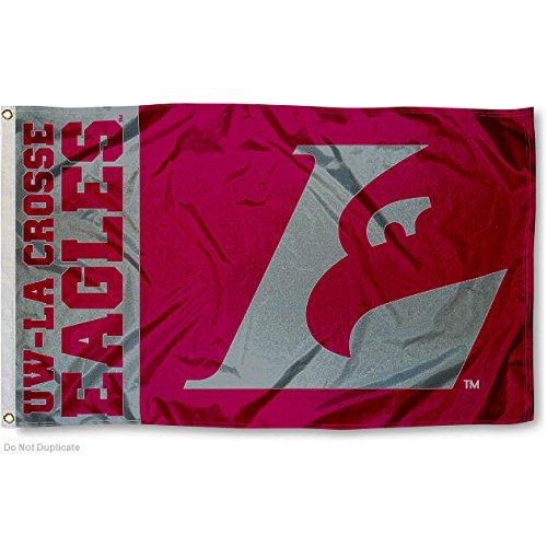 Wisconsin LaCrosse Eagles UWLAX University Weighty College Flag