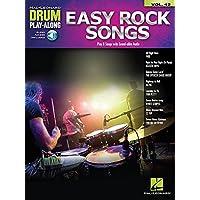 Drum Play-Along Volume 42: Easy Rock Songs (Book/Online
