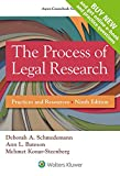 The Process of Legal Research 9th Edition