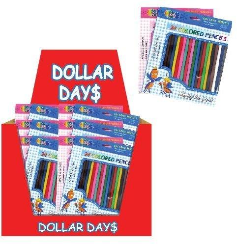 Color Pencils 2 30 pcs sku# 1161252MA by DDI