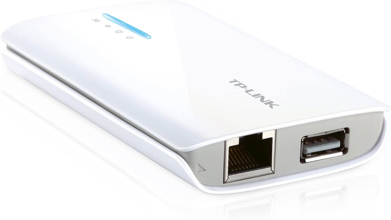 TP-Link N150 Wireless 3G/4G Portable Router with AP/WISP/Router Mode, Compatible with Select AT&T/Verizon/Sprint/T-Mobile USB Modems (TL-MR3040)