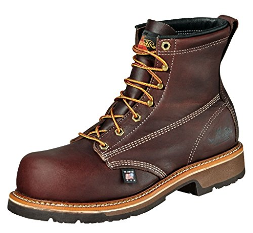 804 11 Mens Boots Work Thorogood Emperor Walnut Leather 4E 4367 CT a16Aw