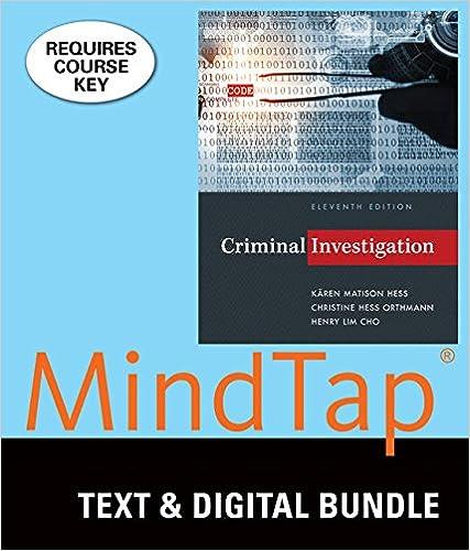 Criminal Investigation (Ll) W/Mindtap
