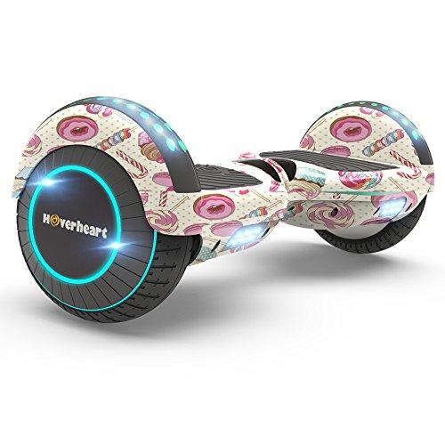 Hoverboard Two-Wheel Self Balancing Electric Scooter UL 2272 Certified, Metallic...