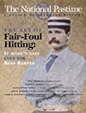 The National Pastime, Society for American Baseball Research Staff, 0910137811