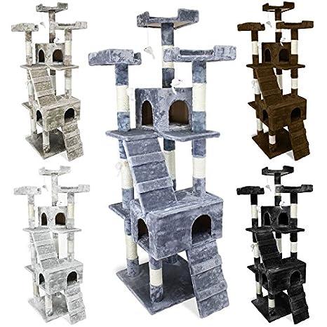 Beauty Pet ® Árbol gigante para gatos cm modelo Caprice cinco colores
